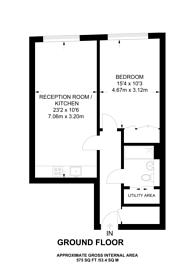 Large floorplan for Pepys Street, City, EC3N