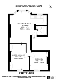 Large floorplan for Tanza Road, Hampstead, NW3