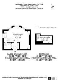Large floorplan for Ladbroke Grove, Notting Hill, W11