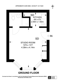Large floorplan for Woodchurch Road, South Hampstead, NW6