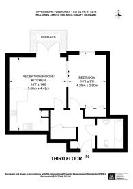 Large floorplan for Tallow Road, Brentford, TW8