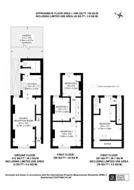 Large floorplan for Broadway Avenue, Selhurst, CR0