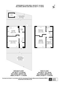 Large floorplan for Bellot Street, Greenwich, SE10