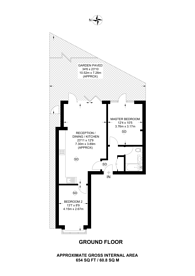 Large floorplan for Loveday Road, Ealing, W13