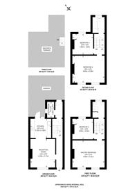 Large floorplan for New North Road, Islington, N1