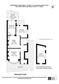 Large floorplan for Braemar Avenue, Neasden, NW10