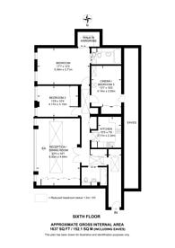 Large floorplan for Harley Street, Marylebone, W1G
