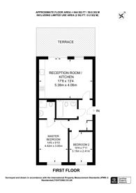 Large floorplan for Holly Court, Greenwich Millennium Village, SE10