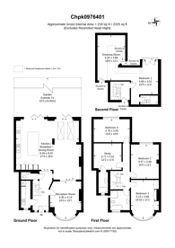Large floorplan for Wren Avenue, Gladstone Park, NW2