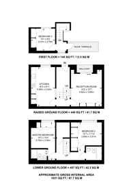 Large floorplan for Voss Street, Bethnal Green, E2