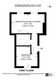 Large floorplan for Elderwood Place, West Norwood, SE27