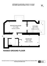 Large floorplan for Bramlands Close, Clapham Junction, SW11