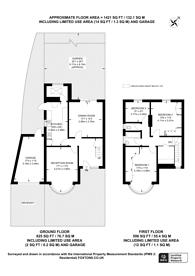 Large floorplan for Woodway Crescent, Harrow, HA1