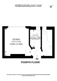 Large floorplan for Spring Street, Paddington, W2