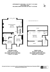 Large floorplan for Belsize Avenue, Belsize Park, NW3