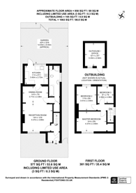 Large floorplan for Waters Road, Kingston, KT1
