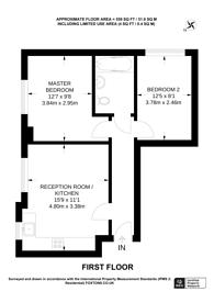 Large floorplan for York Road, Woking, GU22