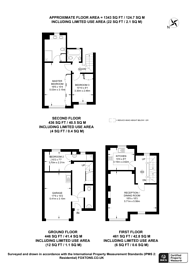 Large floorplan for Balvaird Place, Pimlico, SW1V
