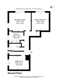 Large floorplan for Allen Edwards Drive, Vauxhall, SW8