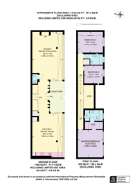 Large floorplan for Powis Gardens, Notting Hill, W11