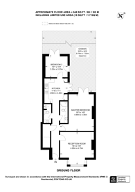 Large floorplan for Oaklands Road, Willesden Green, NW2