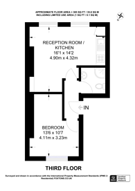 Large floorplan for Hadyn Park Road, Shepherd's Bush, W12