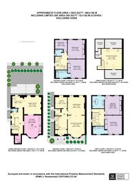 Large floorplan for Philimore Gardens, Phillimore Estate, W8