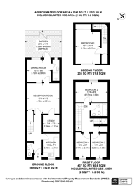 Large floorplan for Shelley Road, Harlesden, NW10