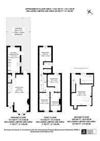 Large floorplan for Ravenshaw Street, West Hampstead, NW6