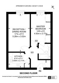 Large floorplan for Berisford Mews, Putney, SW18