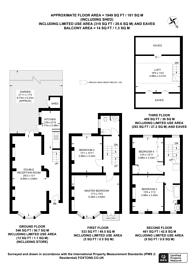 Large floorplan for Fulham Broadway, Fulham Broadway, SW6
