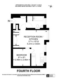 Large floorplan for Edgware Road, W2, Marylebone, W2