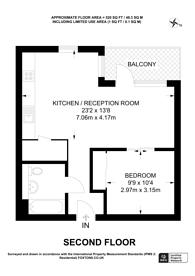 Large floorplan for King Street, Ravenscourt Park, W6