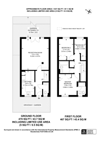 Large floorplan for Sydenham Park Road, Sydenham, SE26
