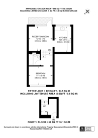 Large floorplan for Overhill Road, East Dulwich, SE22