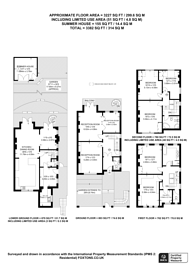 Large floorplan for Holmbush Road, Putney, SW15