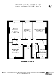 Large floorplan for Davidson Gardens, Vauxhall, SW8