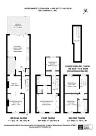 Large floorplan for Wilton Way, London Fields, E8