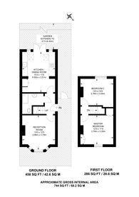 Large floorplan for Browning Road, Bushwood, E11