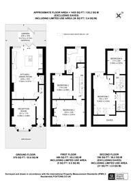 Large floorplan for Haslemere Road, Thornton Heath, CR7