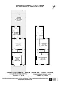 Large floorplan for Old Town, Central Croydon, CR0