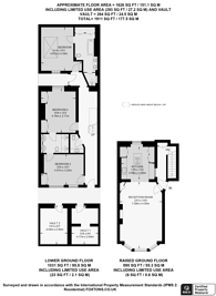 Large floorplan for Nottingham Place, Marylebone, W1U
