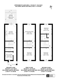 Large floorplan for Drayford Close, Maida Hill, W9