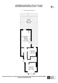 Large floorplan for Bruce Road, Harlesden, NW10