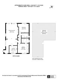 Large floorplan for Woodlands, Golders Green, NW11