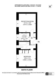 Large floorplan for Kensington High Street, Kensington, W14