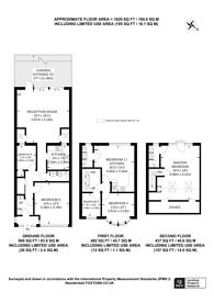Large floorplan for Dunbar Avenue, Streatham, SW16
