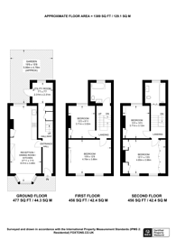 Large floorplan for Crossley Street, Islington, N7