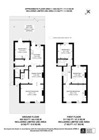 Large floorplan for Acacia Grove, New Malden, KT3