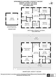 Large floorplan for Warren Road, Kingston Hill, KT2